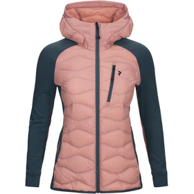 Peak Performance W's Helium Hybrid Hood Jacket Warm Blush